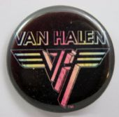 Van Halen - 'Rainbow Logo' 32mm Badge